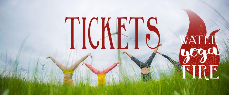 Festival Tickets Water Yoga Fire