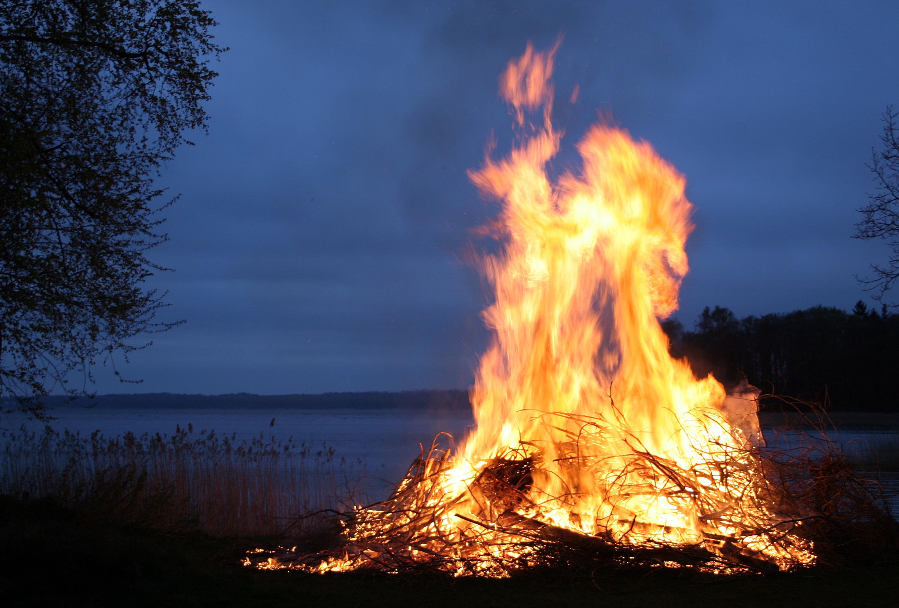 Feuer und Flamme – das ist das Pitta Dosha im Ayurveda.