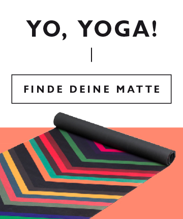 Yoga-Sortiment im MANGOLDS-Shop