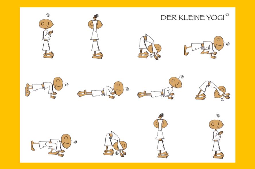 Sonnengruß Für Kinder Yogazeit Das Yogamagazin Aus