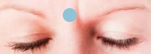Blick aufs dritte Auge