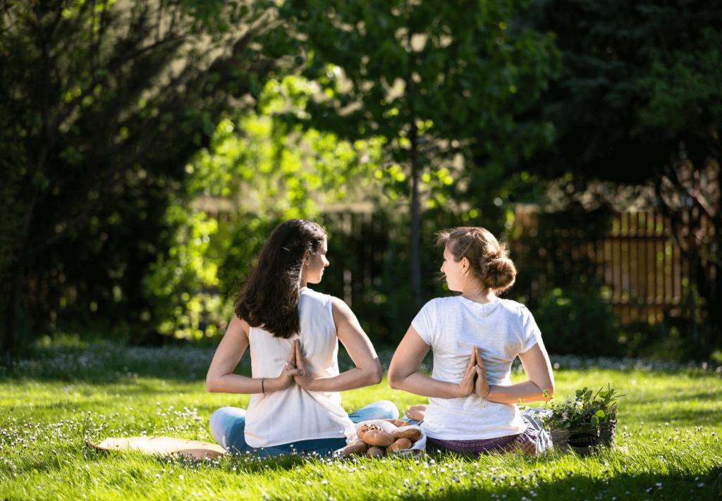Yoga im Schlosspark – Yoga für Anfänger und Fortgeschrittene