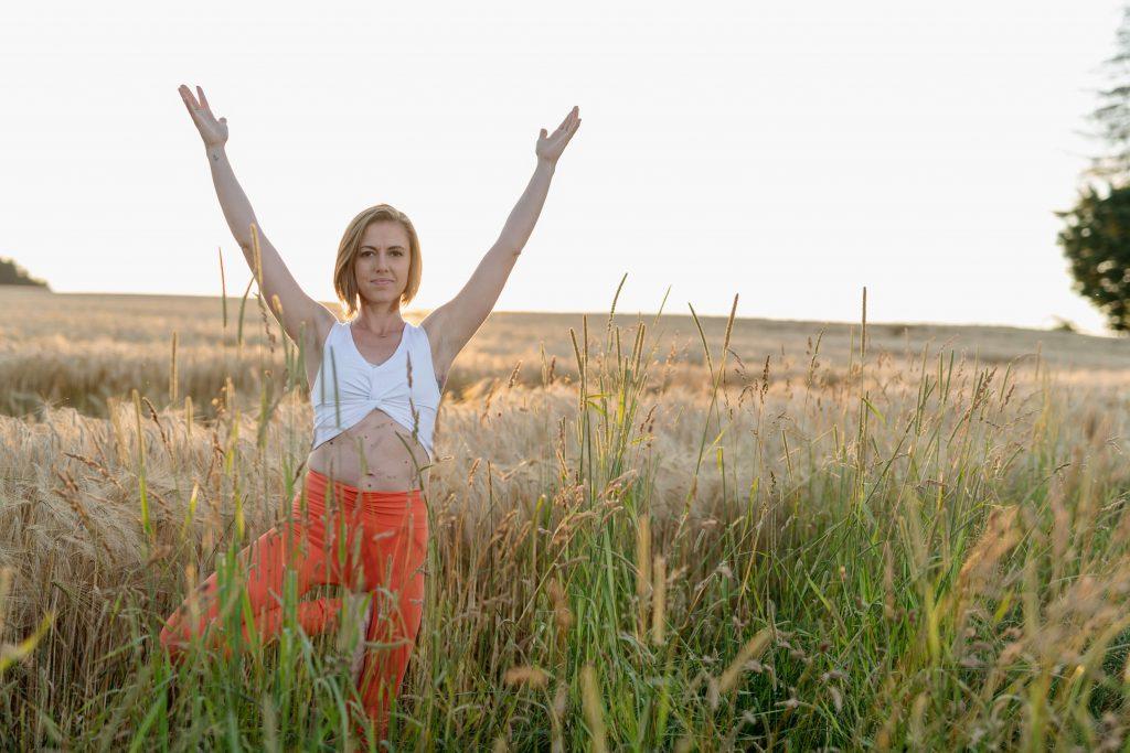 Villa Vitalis Yogalehrerin Stephanie Doms