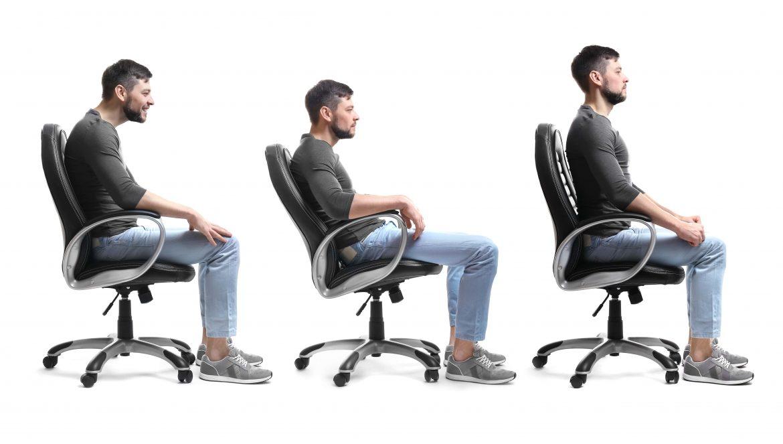 Nackenverspannung Bürorücken Rundrücken