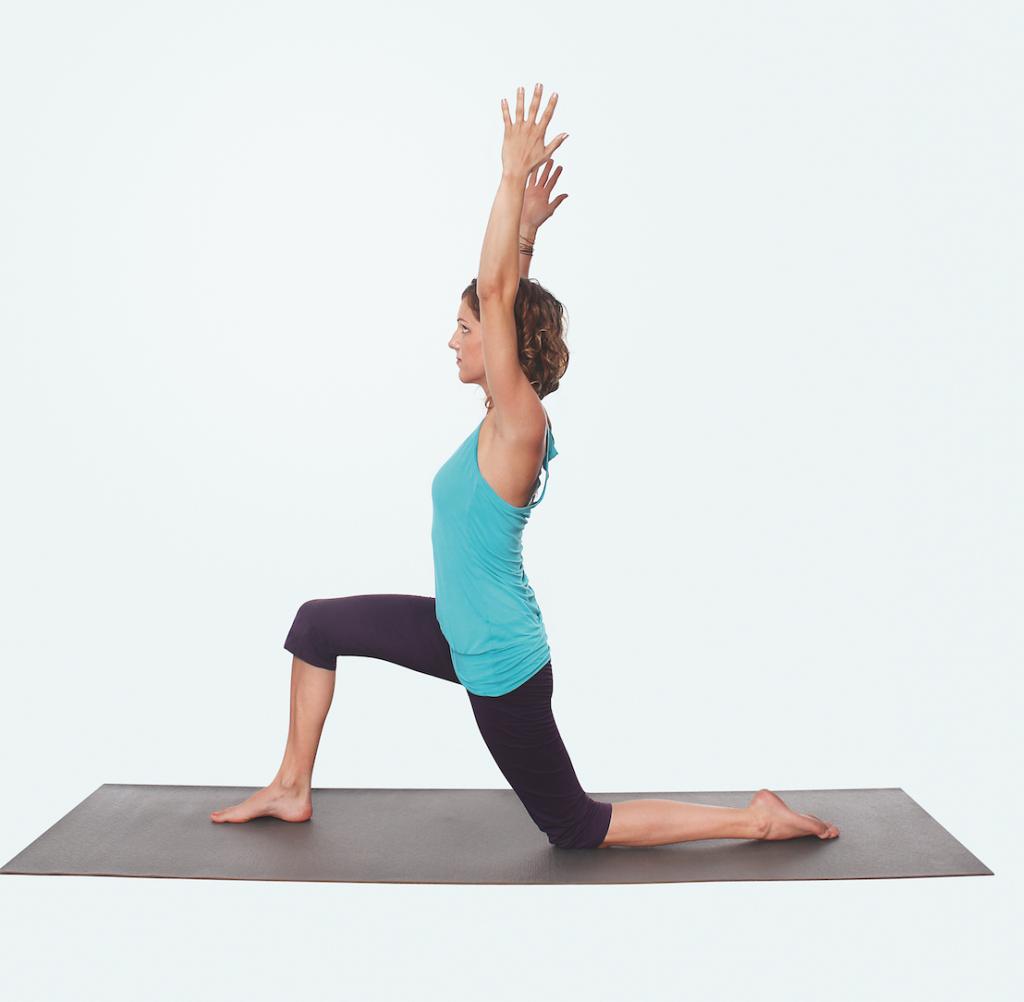 Yoga Praxis für Nacken und Schultern – Yogaübung Kamel Variante 1