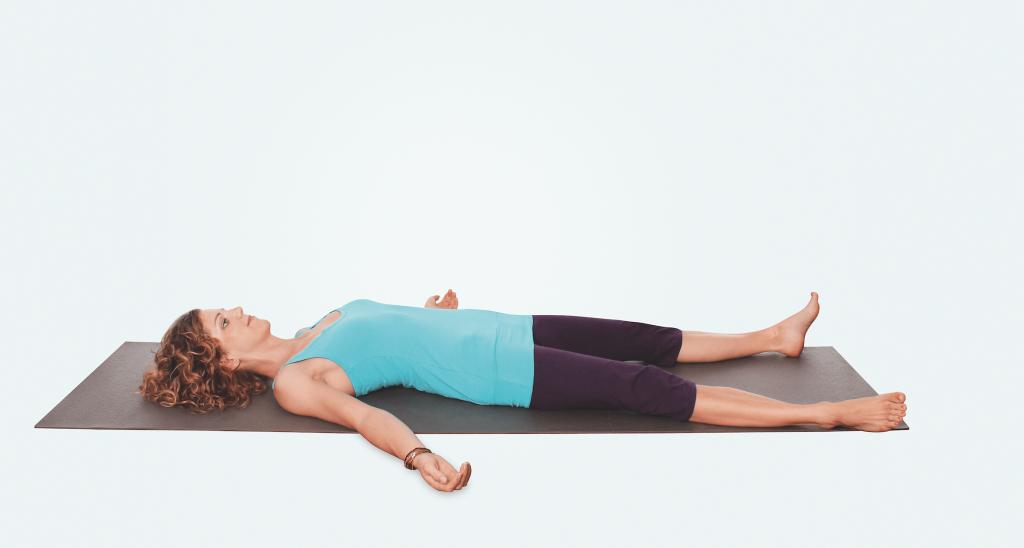 Yoga Übung – Savasana Endentspannung