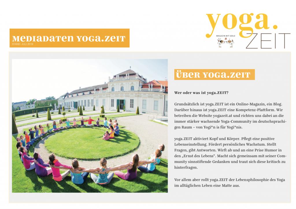 yoga.ZEIT Mediadaten