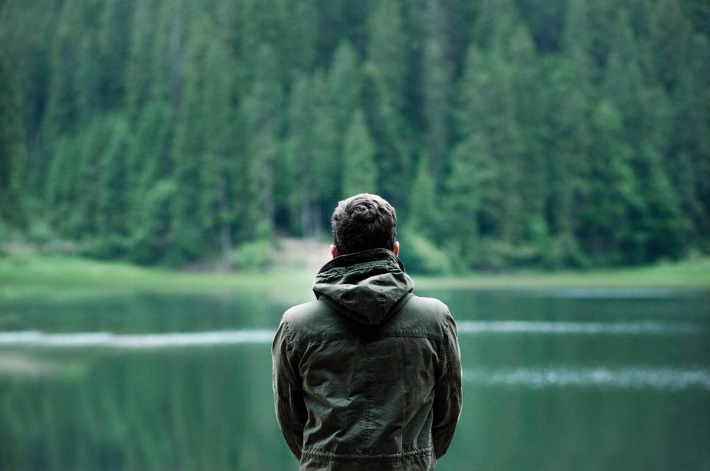 Suche die Stille, höre dir selbst zu.