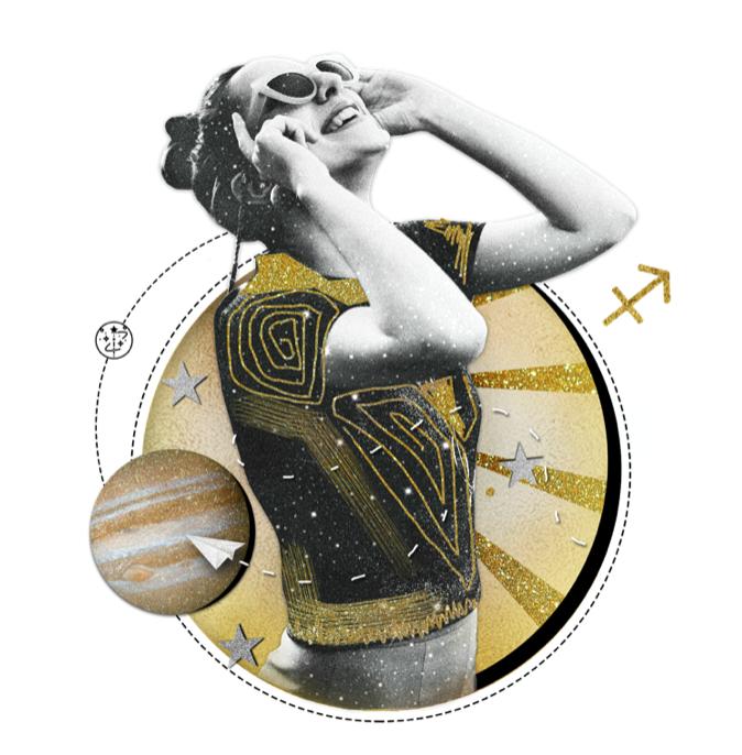Das Mantra für SCHÜTZE Collage von Ellen Holzschuster