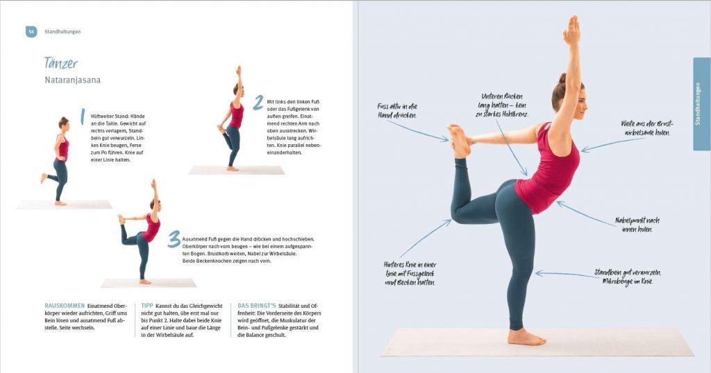 """Ausschnitt aus """"Das einfachste Yogabuch aller Zeiten"""" –Trias Verlag 2020"""